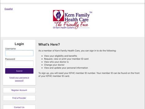 Kern Family Health Care LINK screenshot 5
