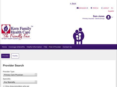 Kern Family Health Care LINK screenshot 8
