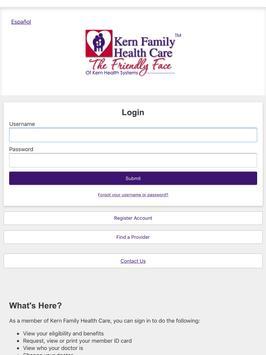 Kern Family Health Care LINK screenshot 9
