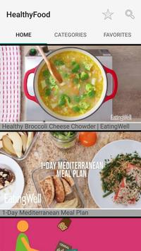 Healthy Recipes : Easy and Simple Food poster