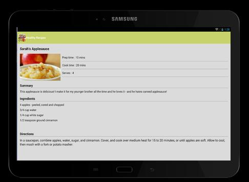 Healthy Recipes screenshot 15