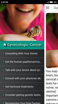 Reduce Gynecologic Cancer Risk apk screenshot