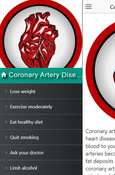 how does exercise reduce coronary heart disease