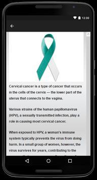 ग्रीवा कैंसर स्क्रीनशॉट 2