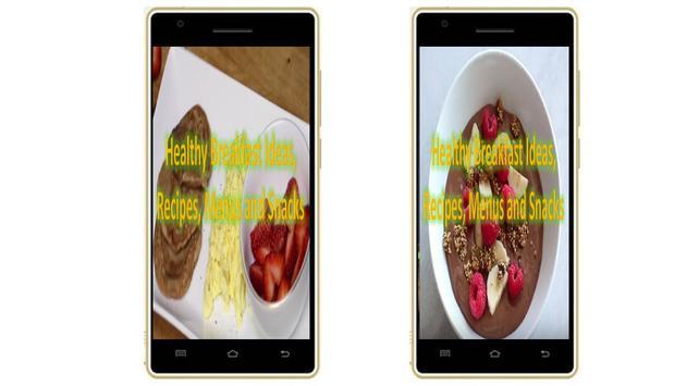 Healthy Breakfast Ideas, Recipes, Menus and Snacks screenshot 1