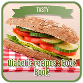 Diabetic recipes : Cook Book icon