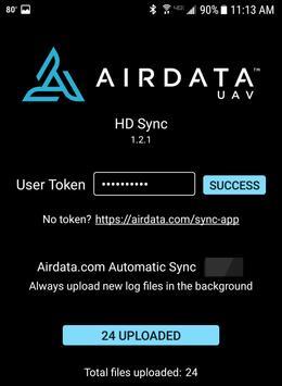 HD Sync captura de pantalla 2