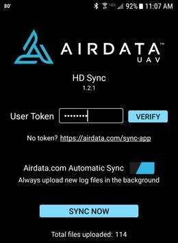 HD Sync captura de pantalla 3