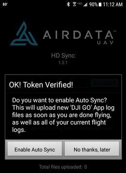 HD Sync captura de pantalla 4