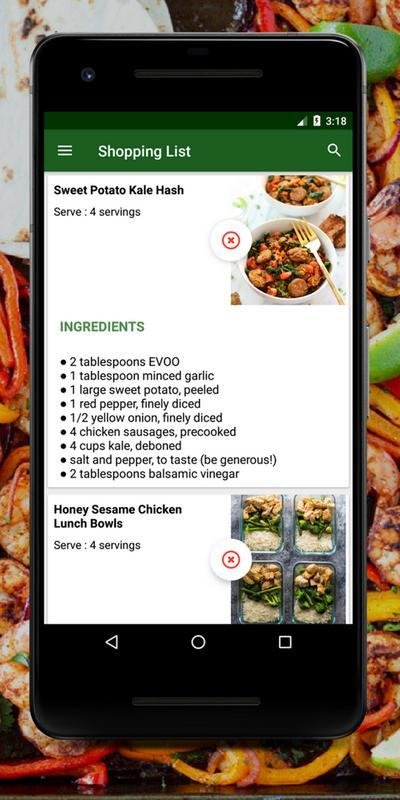 Healthy meal prep recipes tasty meal prep apps for android apk healthy meal prep recipes tasty meal prep apps captura de pantalla 7 forumfinder Gallery