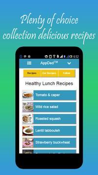 Healthy Lunch Recipes screenshot 4