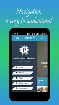Healthy Lunch Recipes screenshot 11