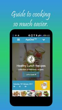 Healthy Lunch Recipes screenshot 1