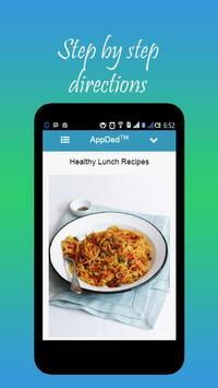 Healthy Lunch Recipes screenshot 23