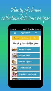 Healthy Lunch Recipes screenshot 20