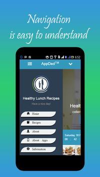 Healthy Lunch Recipes screenshot 3