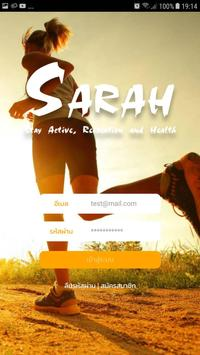 SARAH – Stay Active, Recreation and Health poster