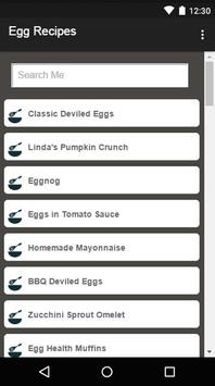 Egg Recipes screenshot 3