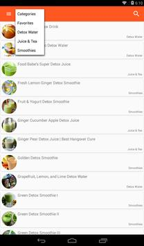 Healthy Drinks Recipes apk screenshot