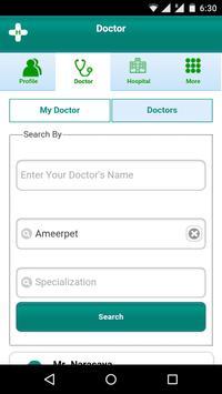 Heal App-The Health Organizer apk screenshot