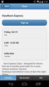 Shape Up Mums Bookings apk screenshot