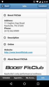 Boost FitClub apk screenshot