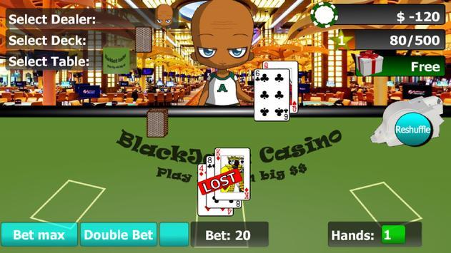 VIP BlackJack 21 apk screenshot