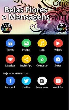 Belas Flores e Mensagens apk screenshot