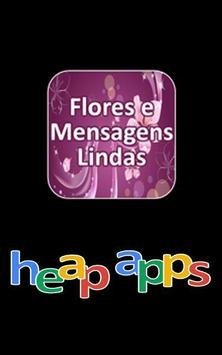 Flores e Mensagens Lindas poster