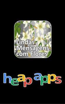 Lindas Mensagens com Flores poster