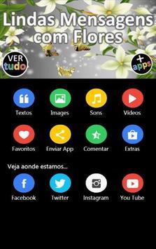 Lindas Mensagens com Flores screenshot 1