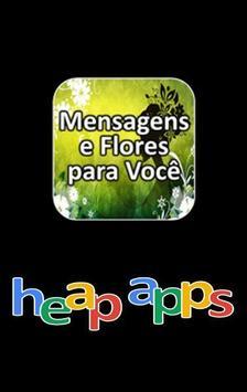 Mensagens e Flores para Você poster