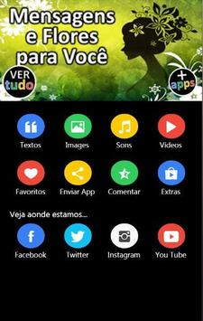 Mensagens e Flores para Você apk screenshot