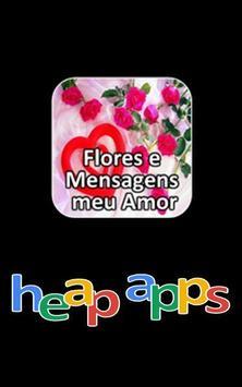 Flores e Mensagens meu Amor poster
