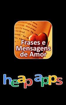 Frases e Mensagens de Amor poster