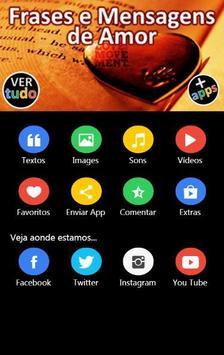 Frases e Mensagens de Amor screenshot 1