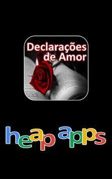 Declarações de Amor poster