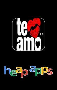 TE AMO 2.0 poster