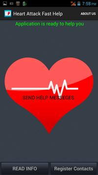 Heart attack Fast Help poster