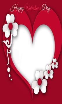 Heart Photo Frame poster