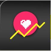 Heart Rate Graph Checker icon
