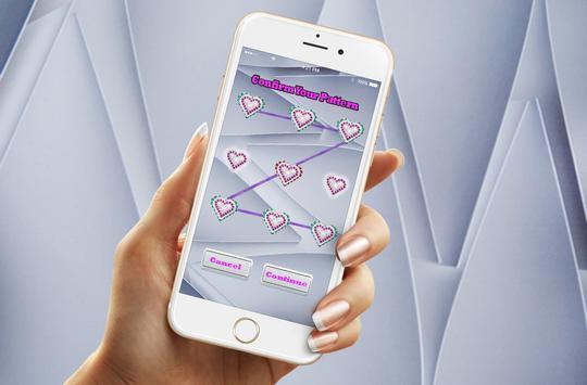 ZigZag Heart Screen Lock poster
