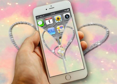 Heart Screen Lock Plus apk screenshot