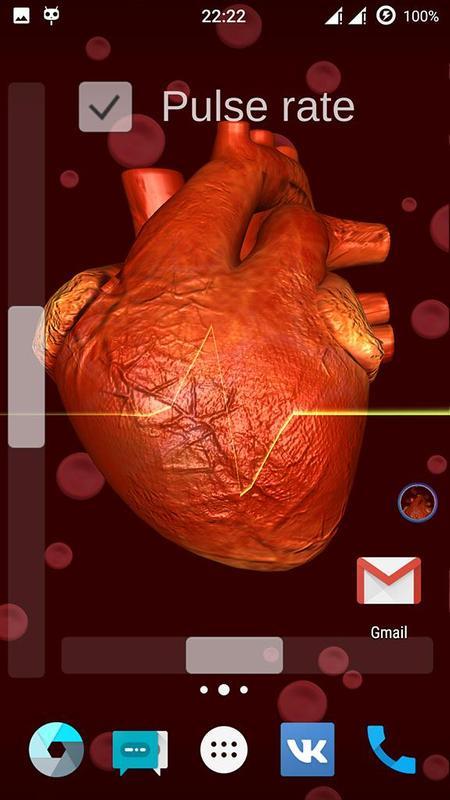 Heart Battery Live Wallpaper Screenshot 4
