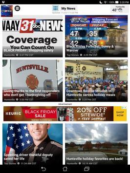 WAAY TV ABC 31 News apk screenshot