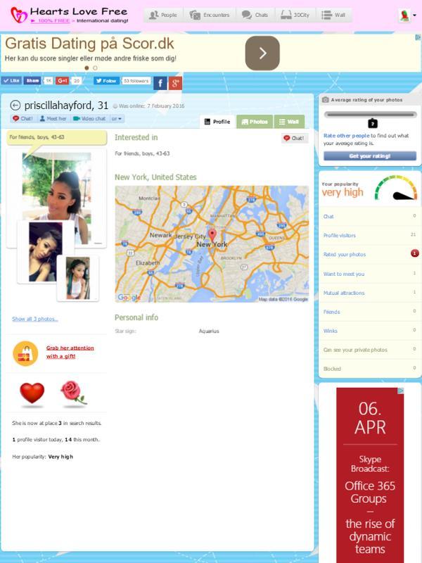 gratis dating site ratings tager det næste skridt i online dating