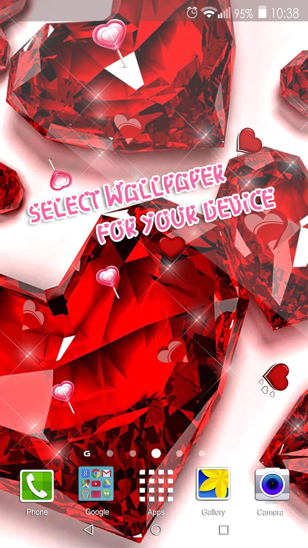 Fond Décran Cœur Image D Amour Gratuit Pour Android