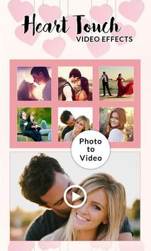 Heart Touch Video Effects poster