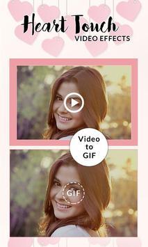 Heart Touch Video Effects screenshot 3