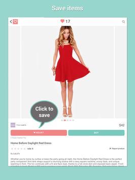 Shop Clothing Sales: HeartThis apk screenshot